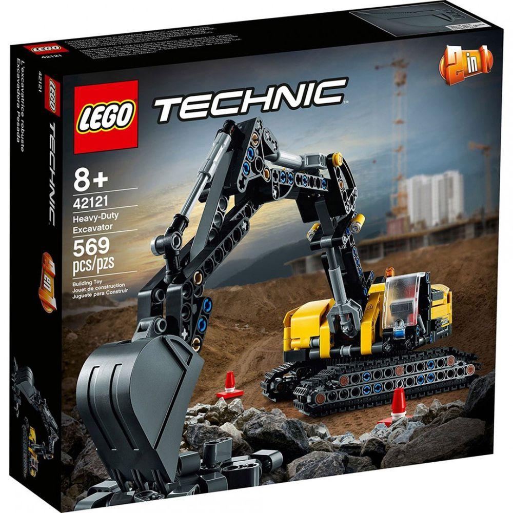 樂高 LEGO - 樂高積木 LEGO《 LT42121 》科技 Technic 系列 - 重型挖土機-569pcs