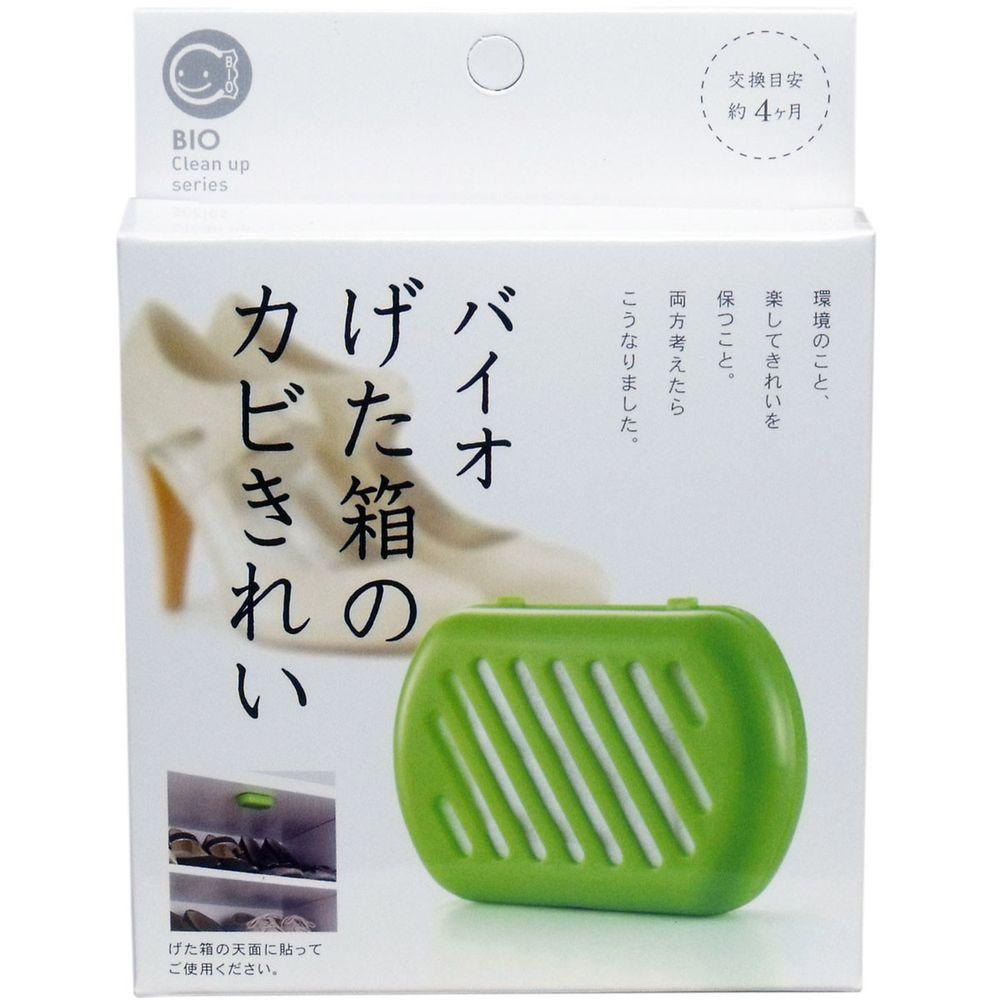 日本代購 - 日本製 POWER BIO 防霉 / 除臭貼片-鞋櫃用