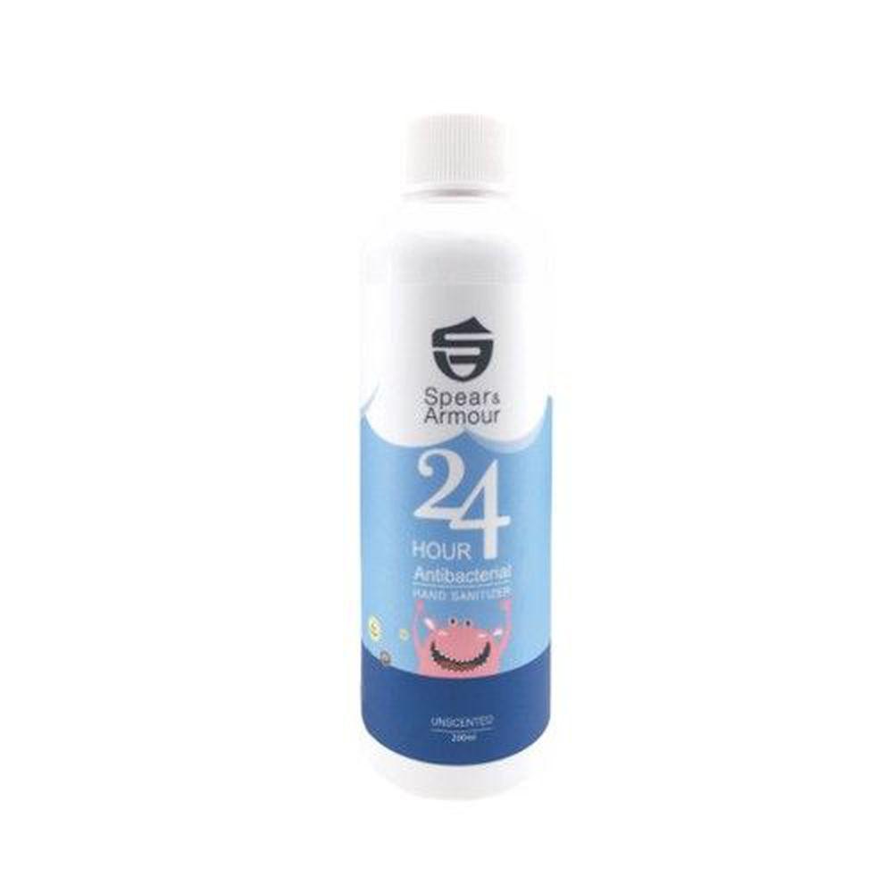 美國Spear&Armour思必兒 - 長效抗菌補充瓶更環保、省錢-長效乾洗手慕斯怪獸版補充瓶-無味-200ml