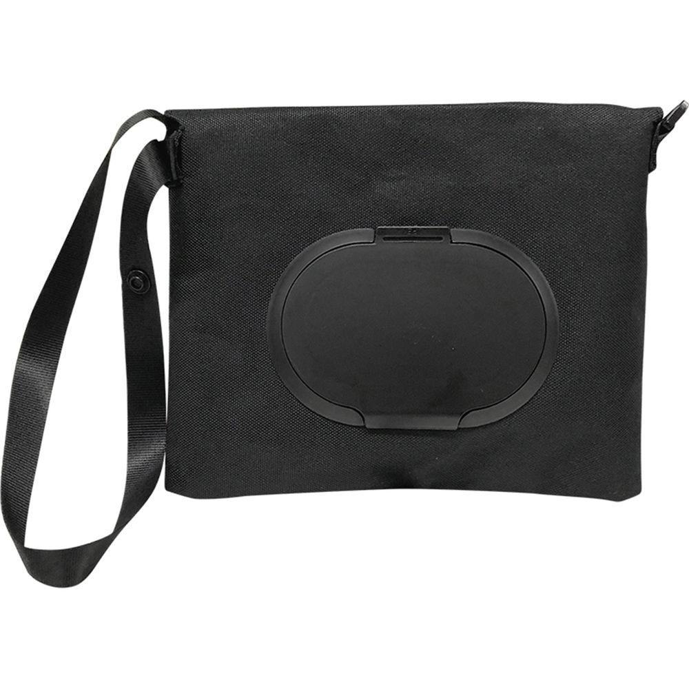 akachan honpo - 兩用FUTAP濕紙巾收納袋PLUS-黑色