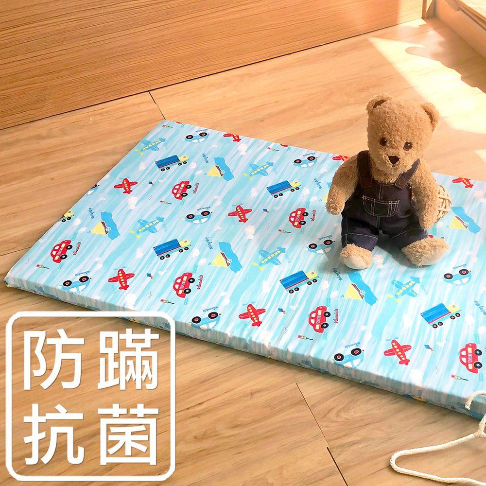 鴻宇 HONGYEW - 嬰兒幼童乳膠床布套-夢想號-藍色 (60x120 cm)