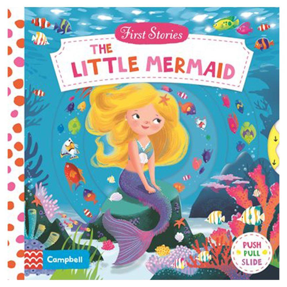 Macmillan - First Stories 操作硬頁書-The Little Mermaid 小美人魚