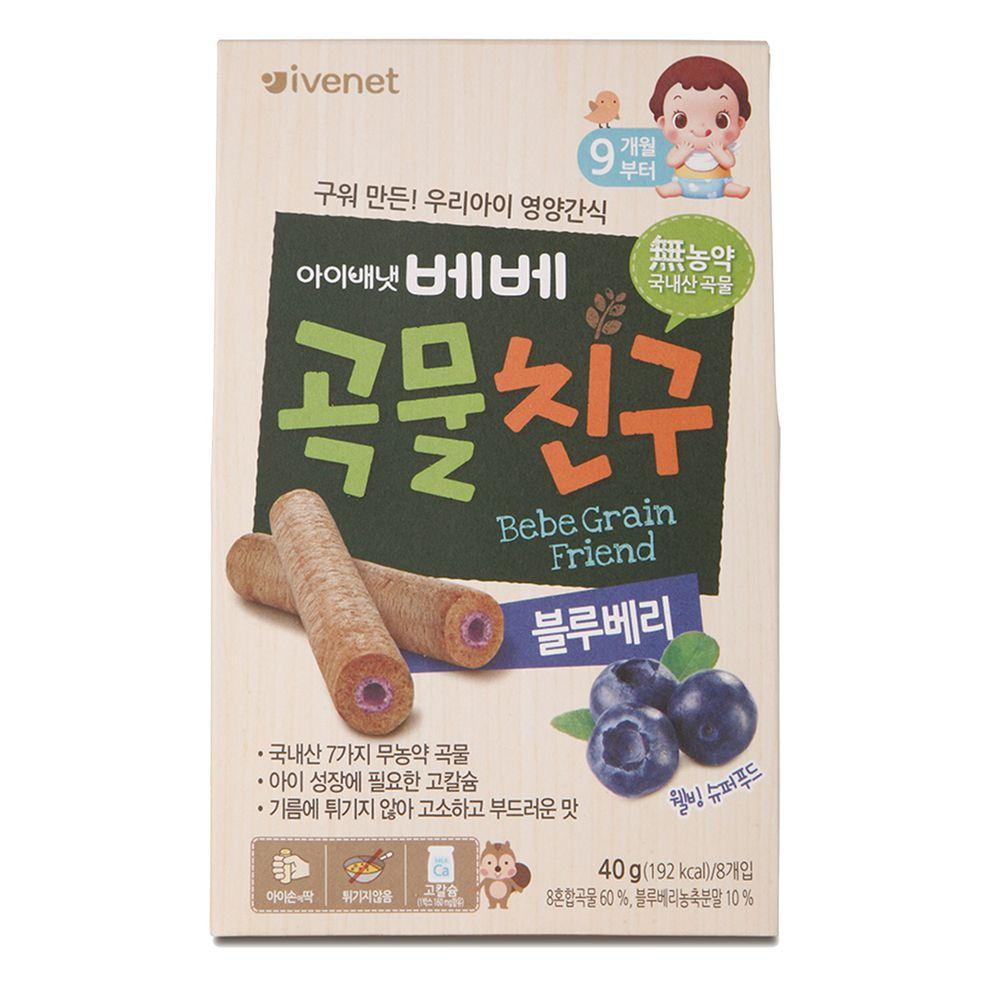 ivenet - 艾唯倪穀物棒棒(藍莓風味)40g_9M以上