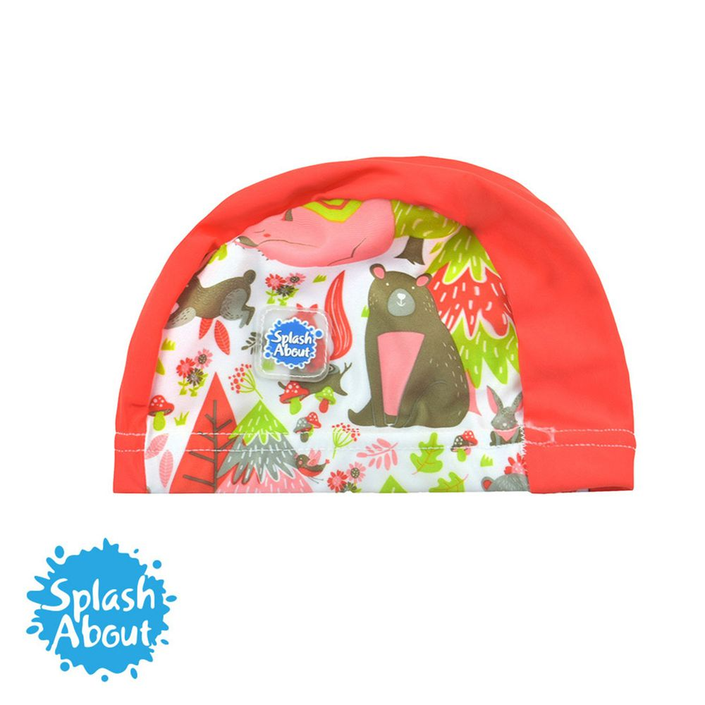 Splash About 潑寶 - Swim Hat 抗UV泳帽-森林遊樂園