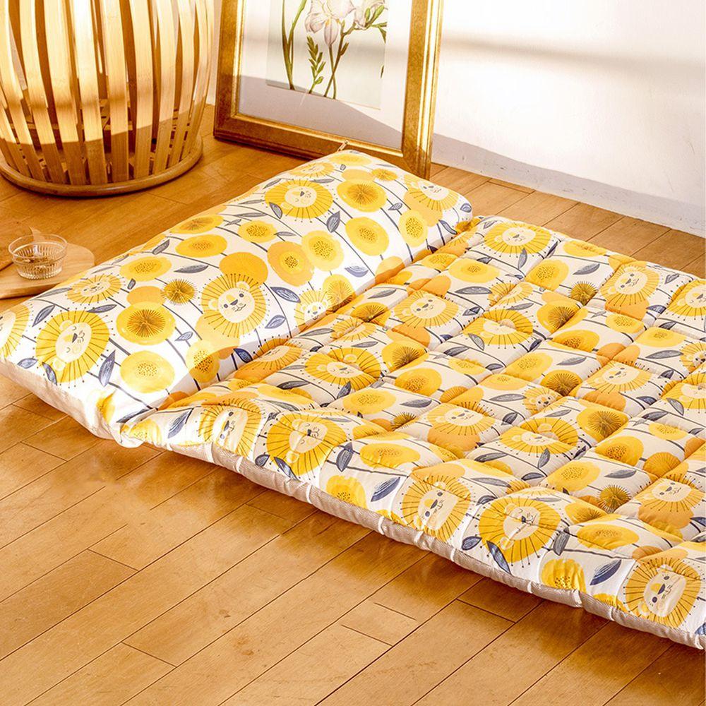 韓國 Formongde - 莫代爾5cm厚墊雙面用睡袋/寢具(附收納袋)-向日葵田