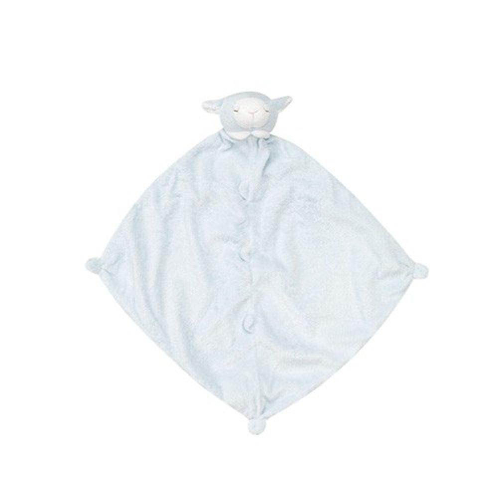 美國 Angel Dear - 動物嬰兒安撫巾-藍色小羊