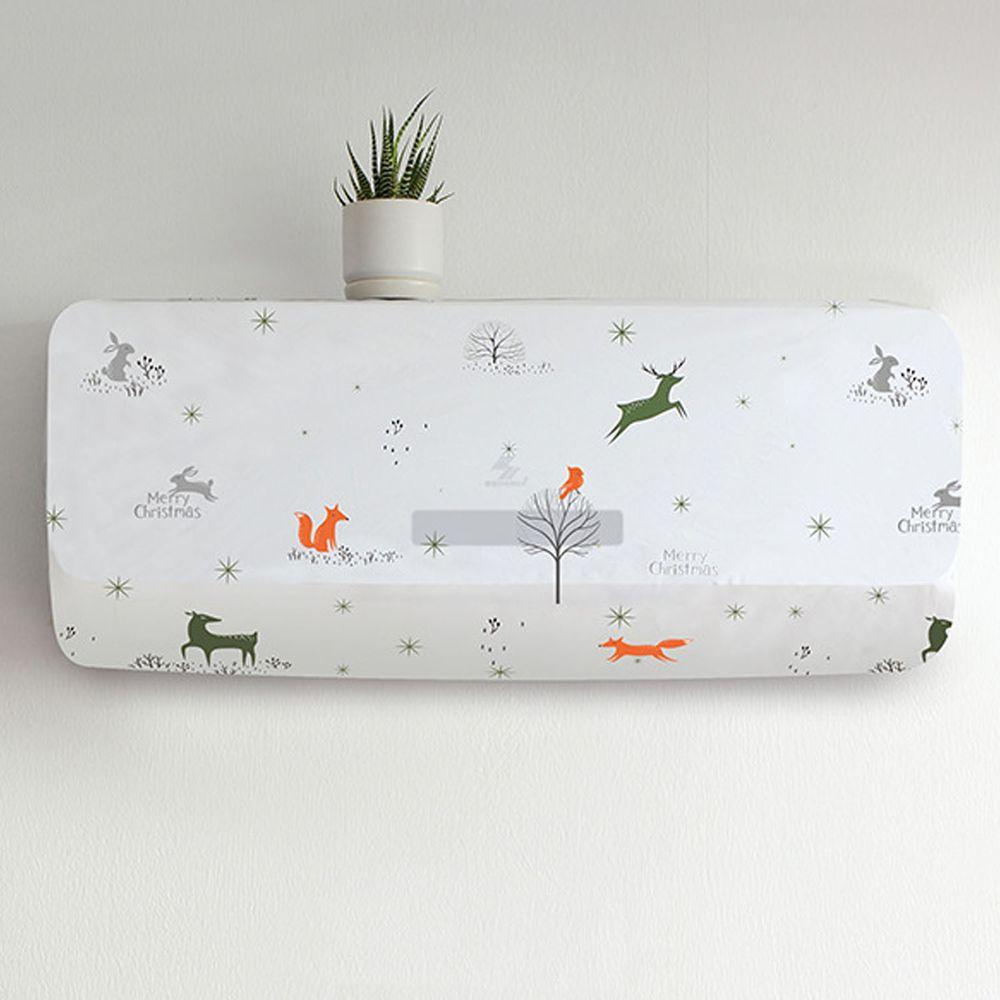 防水家用冷氣防塵罩-北歐動物