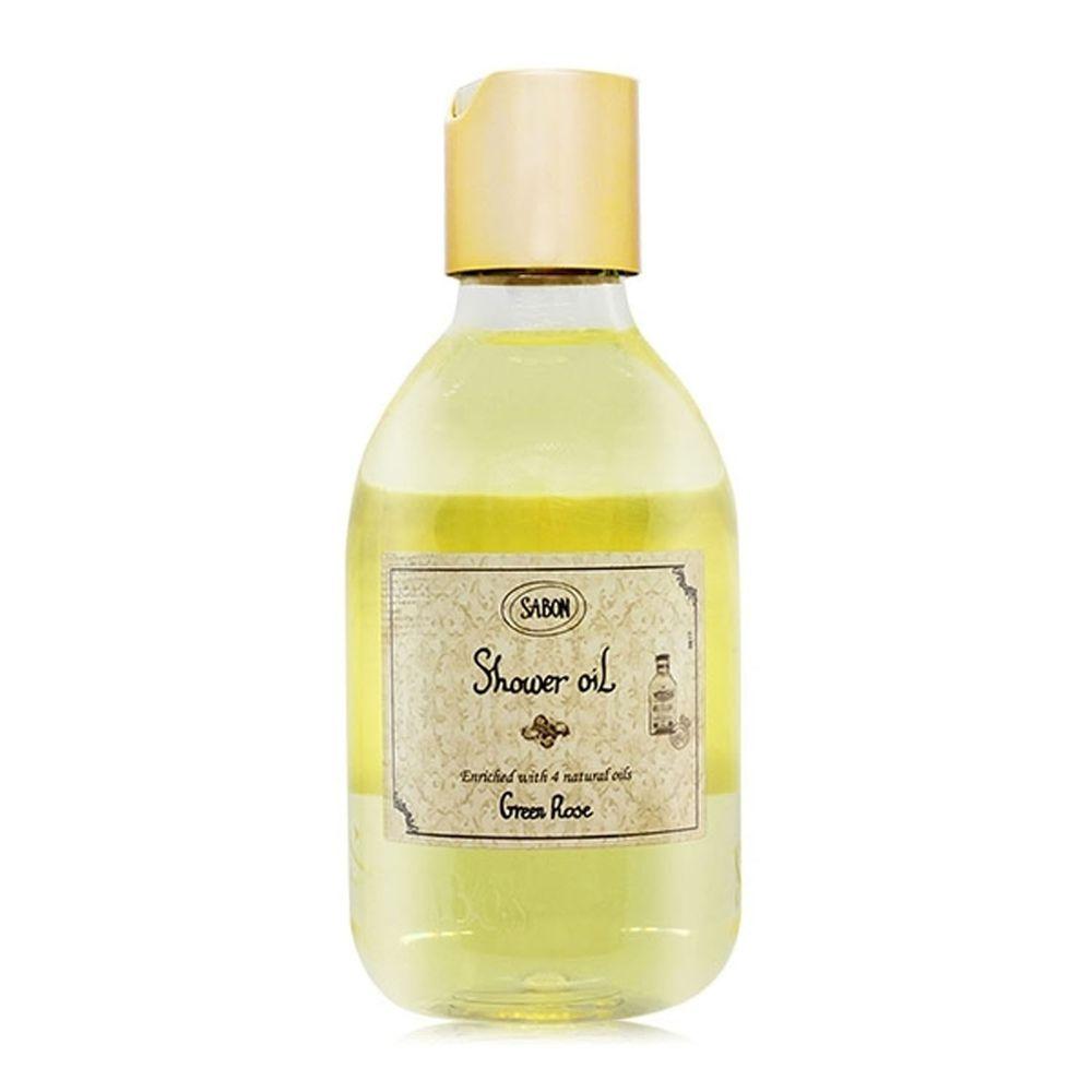 SABON - 以色列綠玫瑰沐浴油-國際航空版-300ml (有效期限至: 2024/10/30)