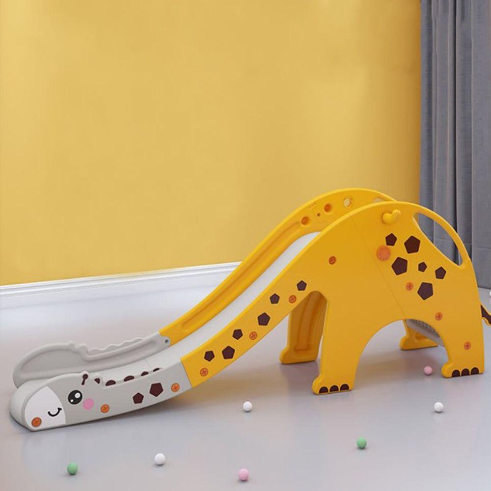 Phoebe - Phoebe兒童遊戲溜滑梯-長頸鹿款(附籃球框及籃球)