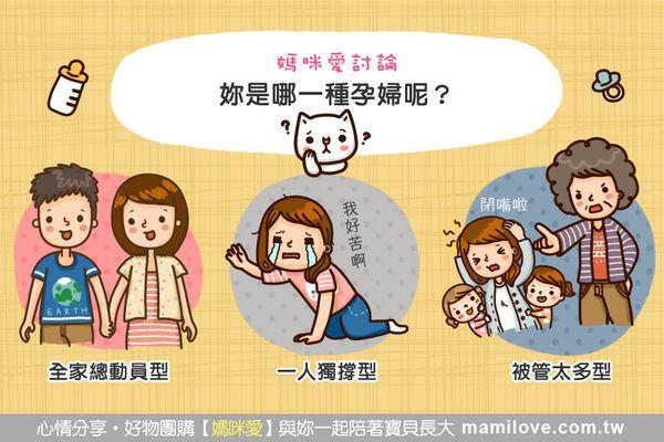 媽咪愛討論:妳是哪一種孕婦呢?