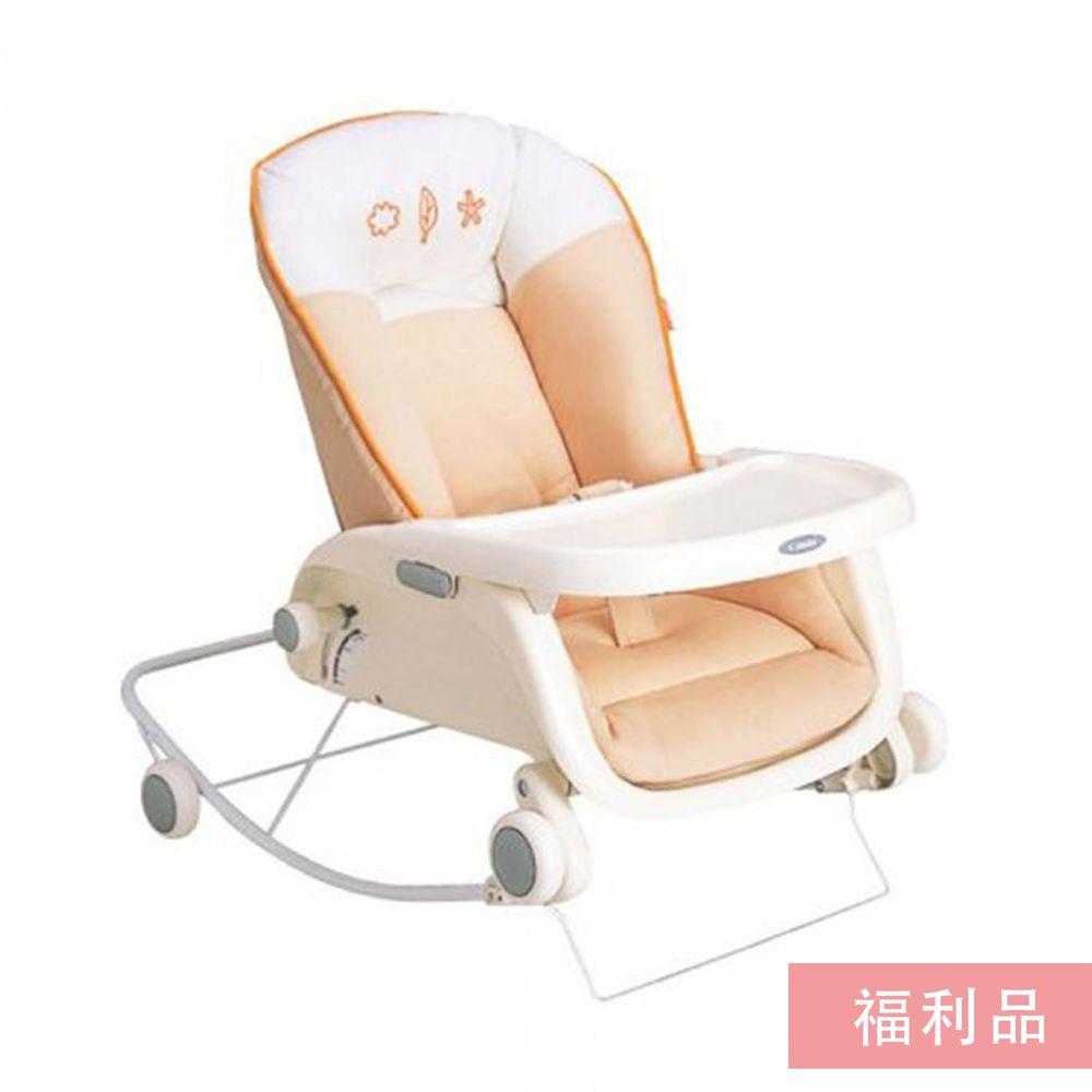 日本 Combi - Prumea 安撫餐搖椅床-S 款 (福利品) (0個月起~2歲)