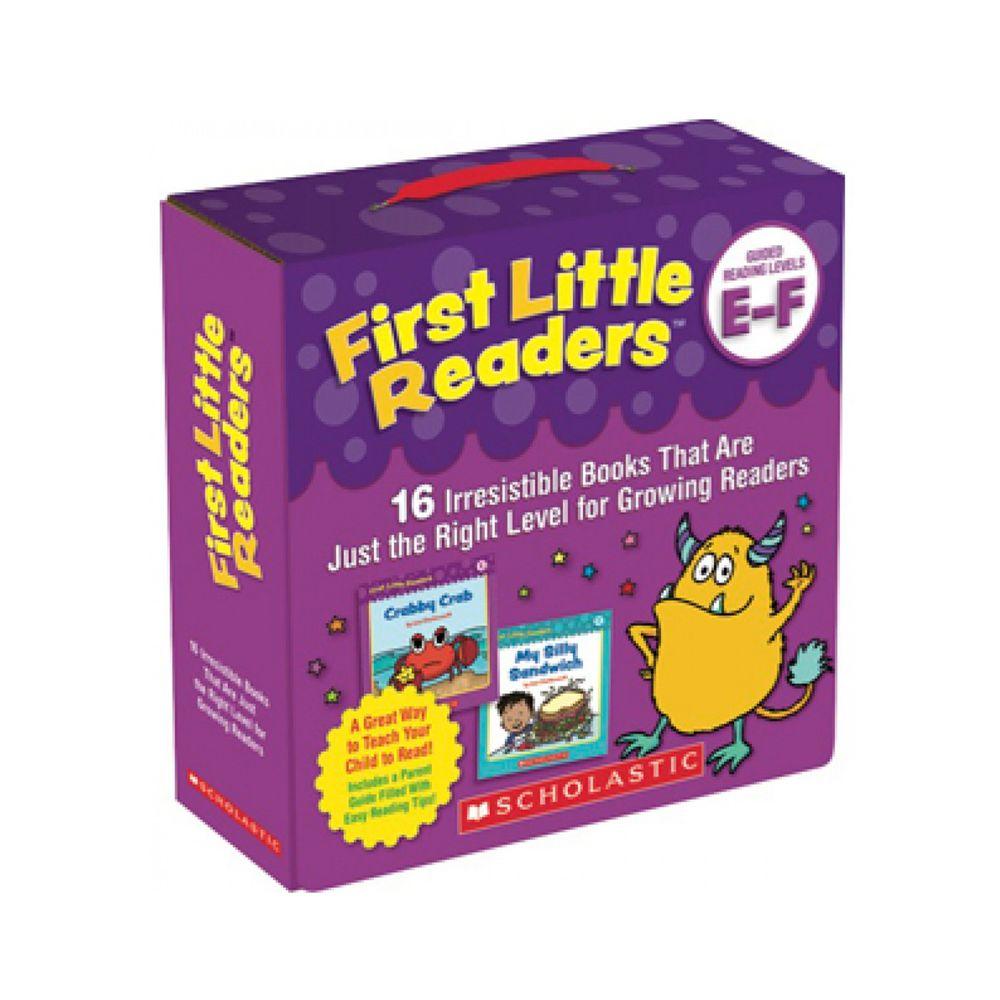 我的第一套小小閱讀文庫First Little Readers Level E-F-書+CD