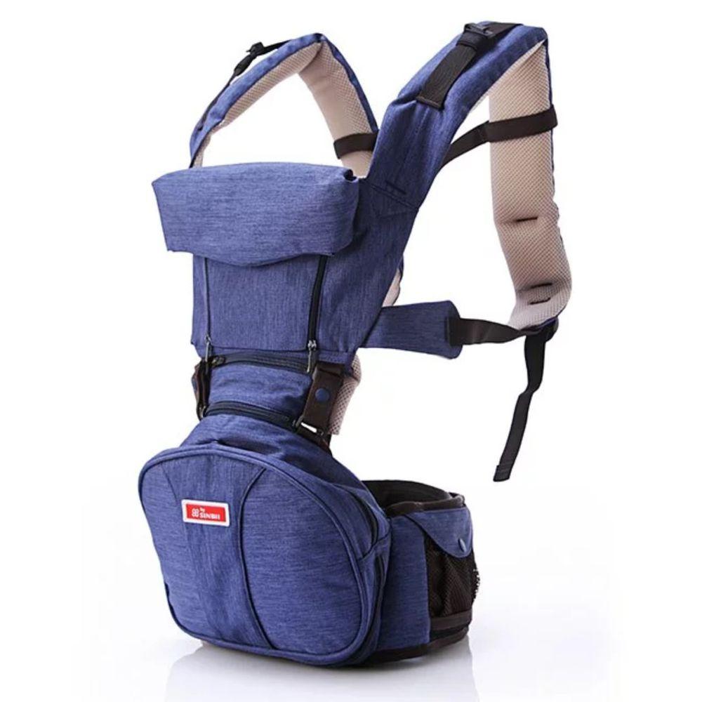 韓國sinbii - EZbag 2.0 全階段嬰兒背帶-多瑙藍