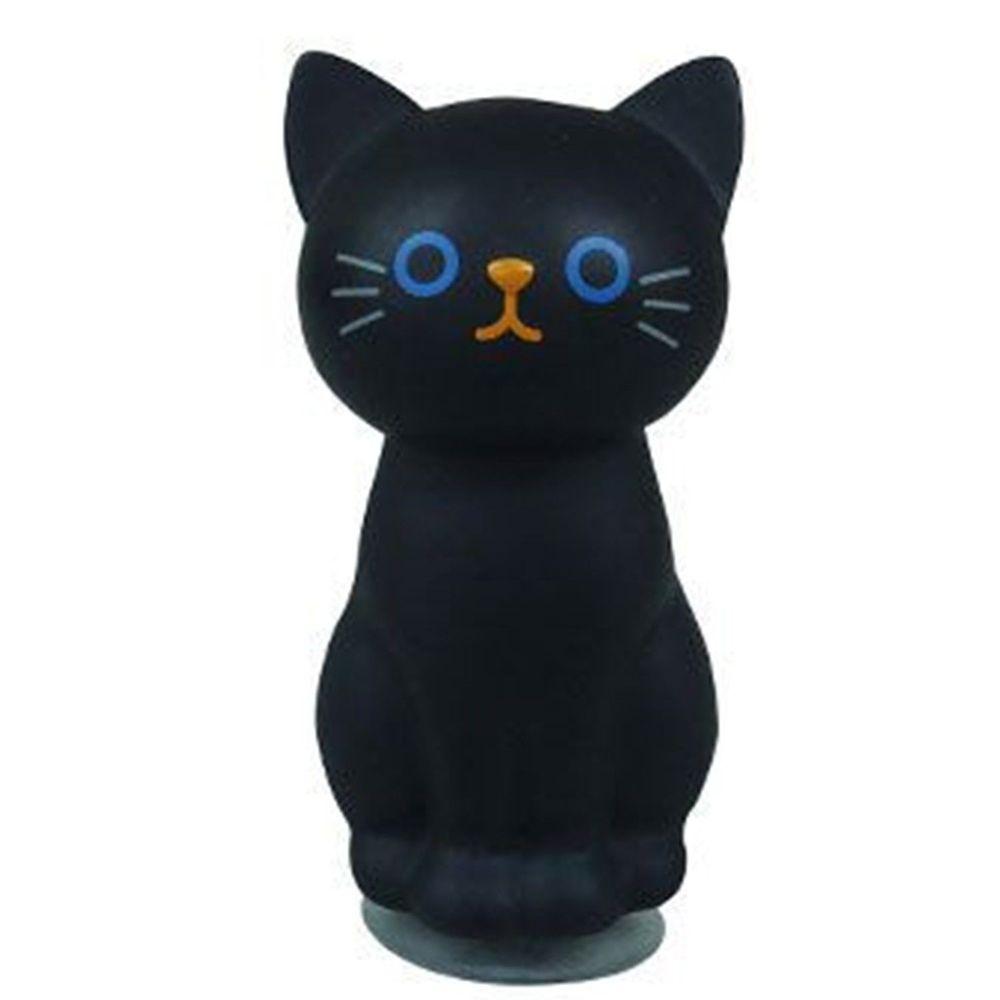 日本 貓尾物語 - 貓咪牙刷架-黑