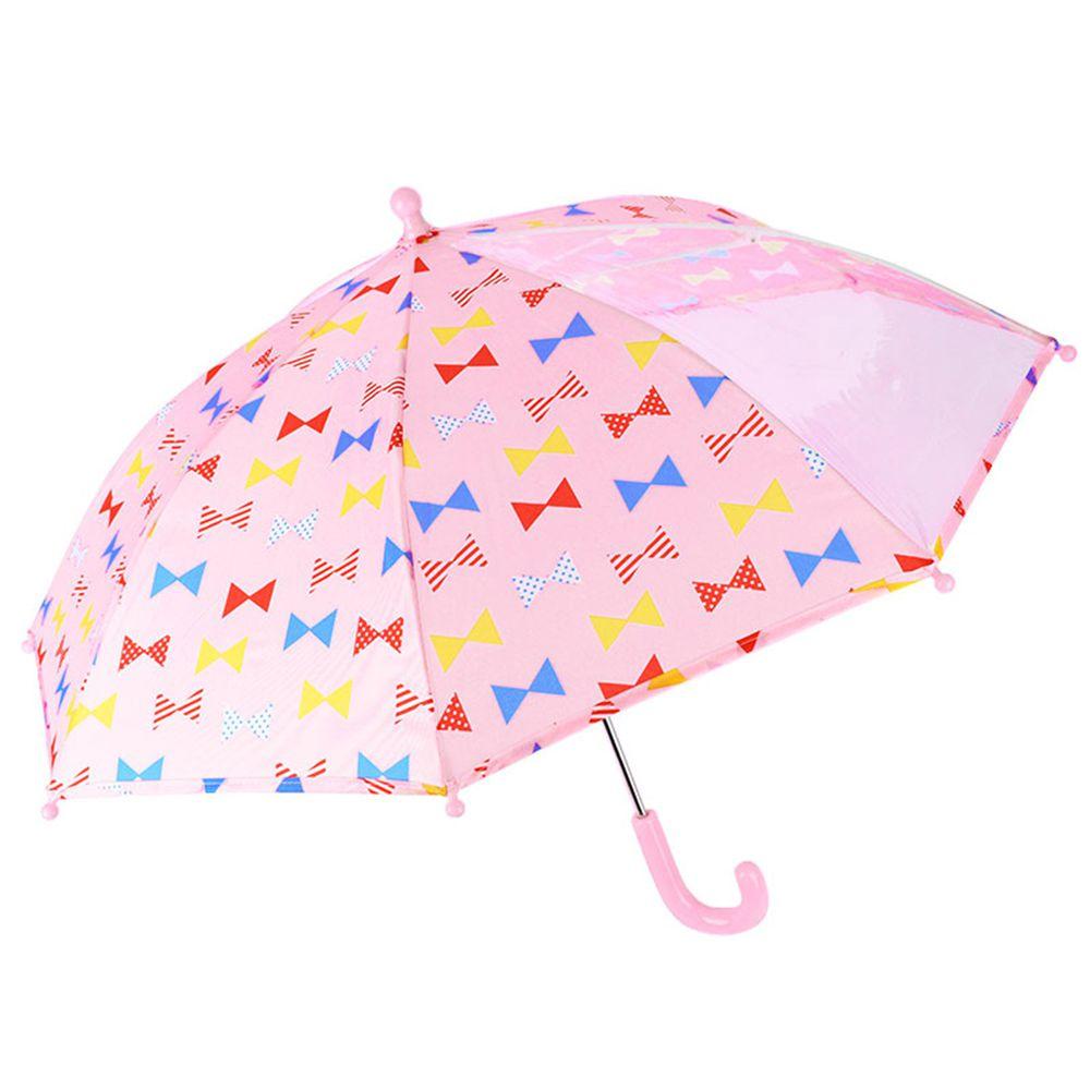 akachan honpo - 雨傘-蝴蝶結-粉紅色 (45cm)