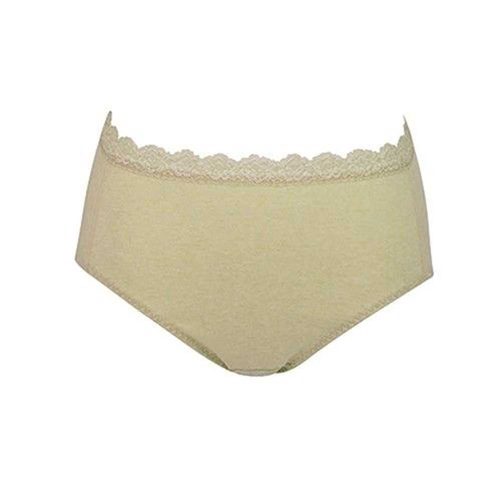 日本 Combi - 天然彩棉產婦褲-綠色