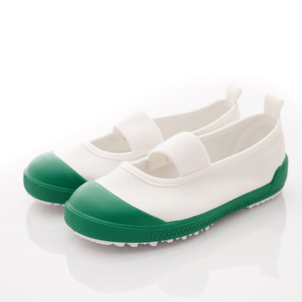 Moonstar日本月星 - 鐵氟龍易彎折室內鞋款(中小童段)-綠