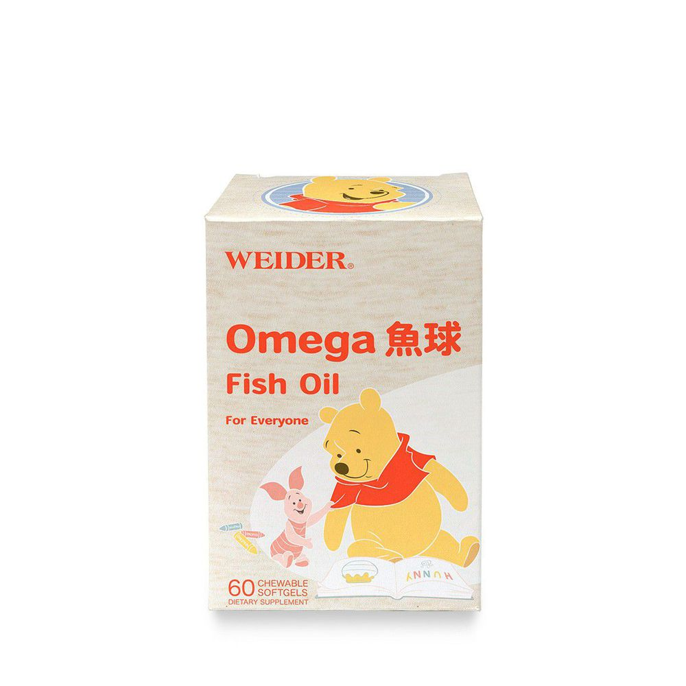 WEIDER 美國威德 - Omega 魚球-60顆/瓶*1