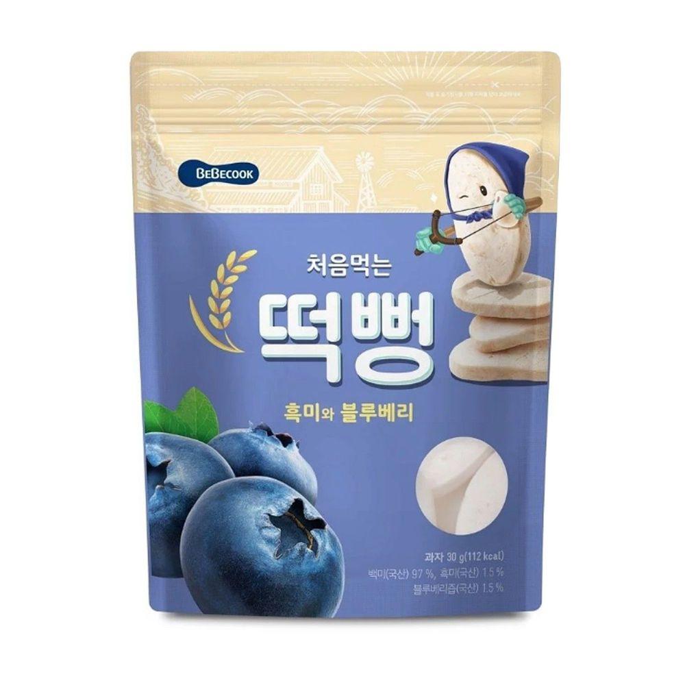 BEBECOOK 寶膳 - 嬰幼兒初食綿綿米餅-藍莓