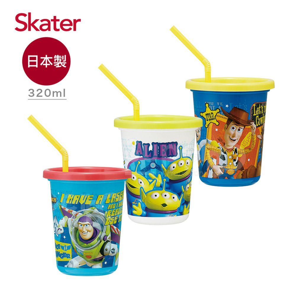 日本 SKATER - 日本製3入水杯(320ml)-玩具總動員TOY