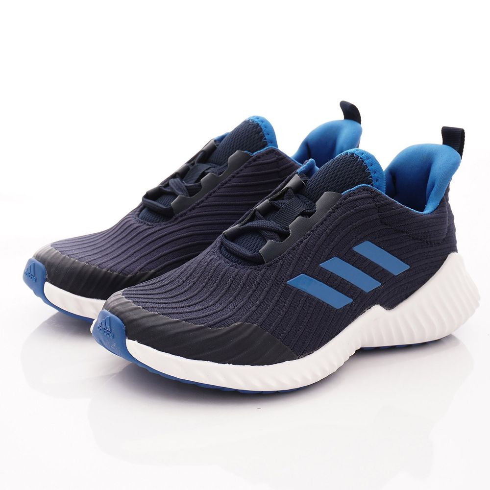 adidas - ADIDAS慢跑鞋-FortaRun緩震慢跑款(中大童段)-藍