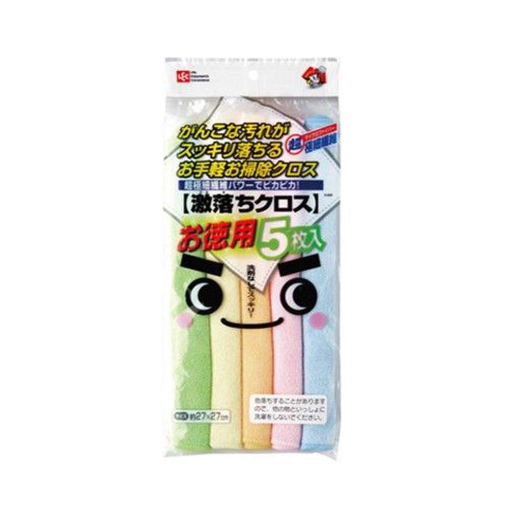 日本 LEC - 激落免洗劑清潔巾-5入組