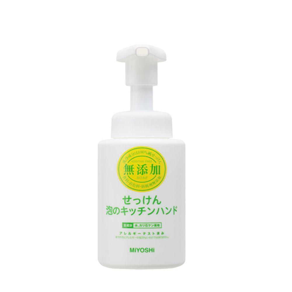 日本 MIYOSHI 無添加 - 廚房用泡沫洗手乳-250ml