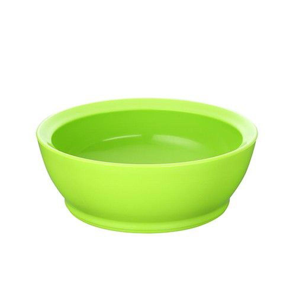 美國 Calibowl - 12oz防漏學習碗-綠色-單入無蓋