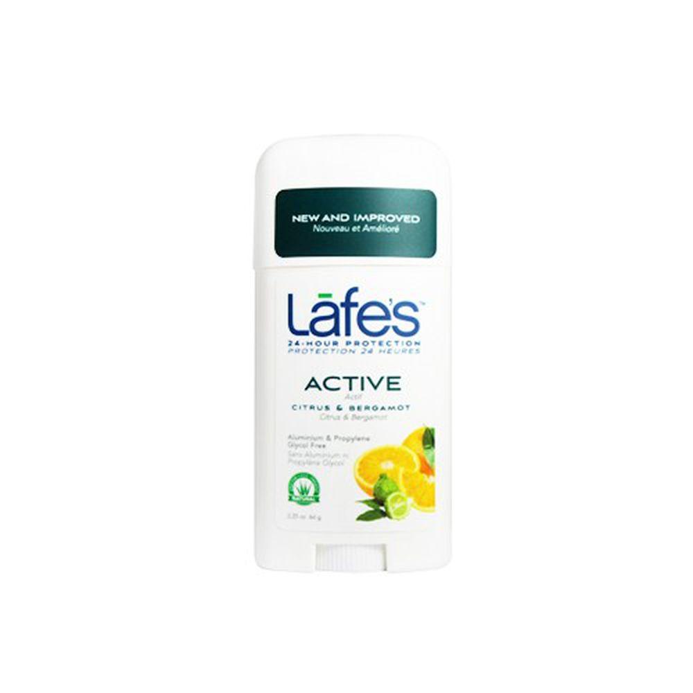 美國 Lafe's organic - 純自然體香膏-運動清爽