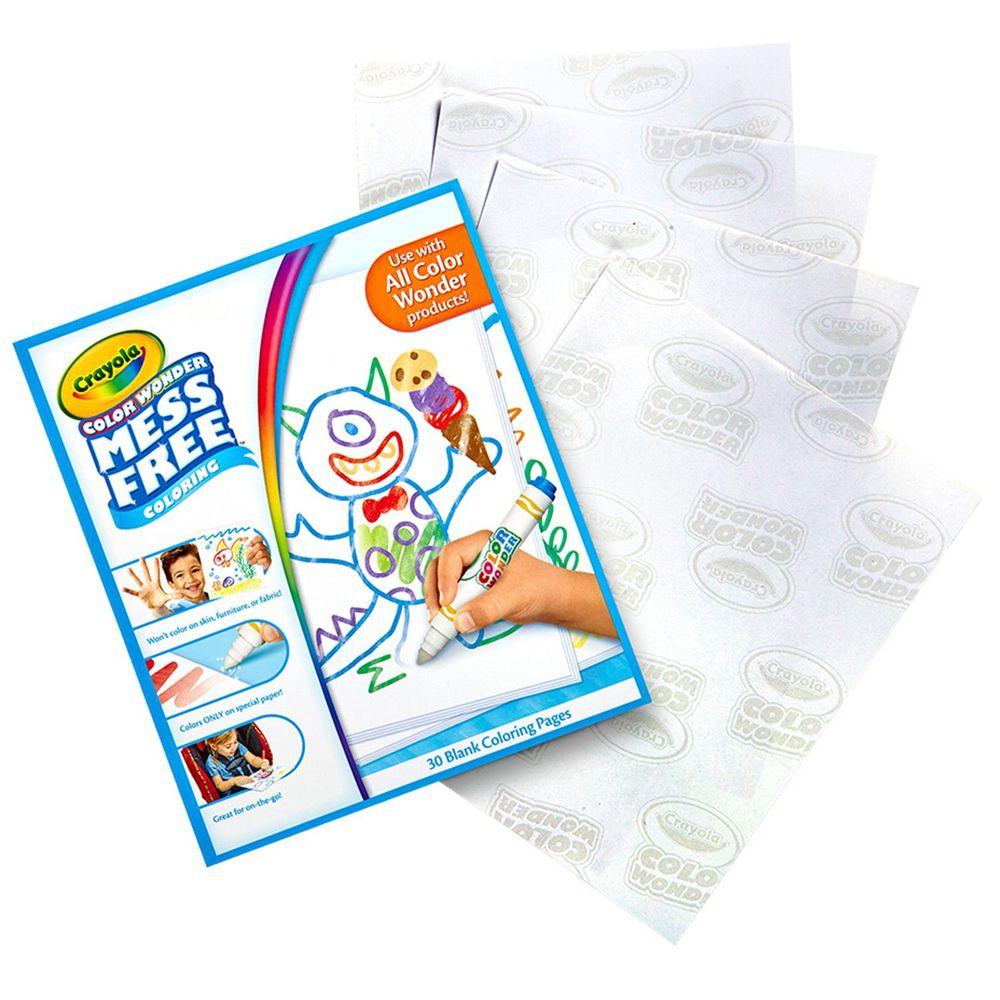 Crayola繪兒樂 - 神彩系列空白畫冊-30頁