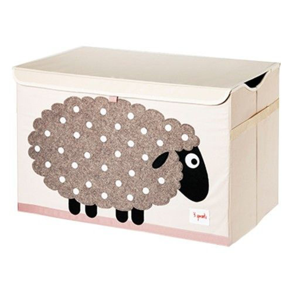 加拿大 3 Sprouts - 大型玩具收納箱-綿羊