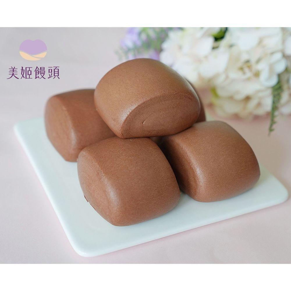 美姬饅頭 - 美姬嚴選法芙娜巧克力饅頭-6入-50g/顆