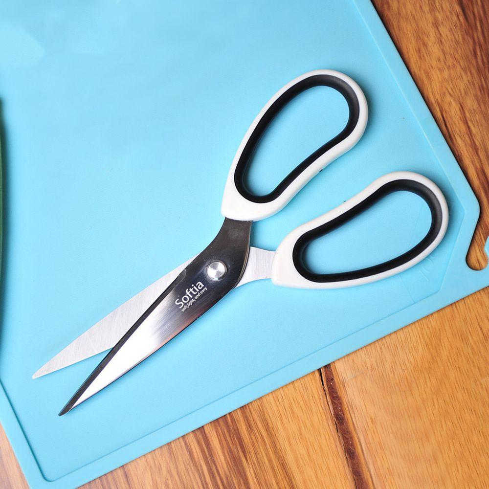 Softia - 手感系列廚房剪刀-黑色