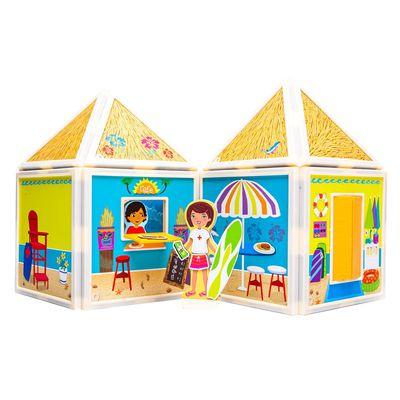 百變娃娃屋-陽光沙灘-54pcs