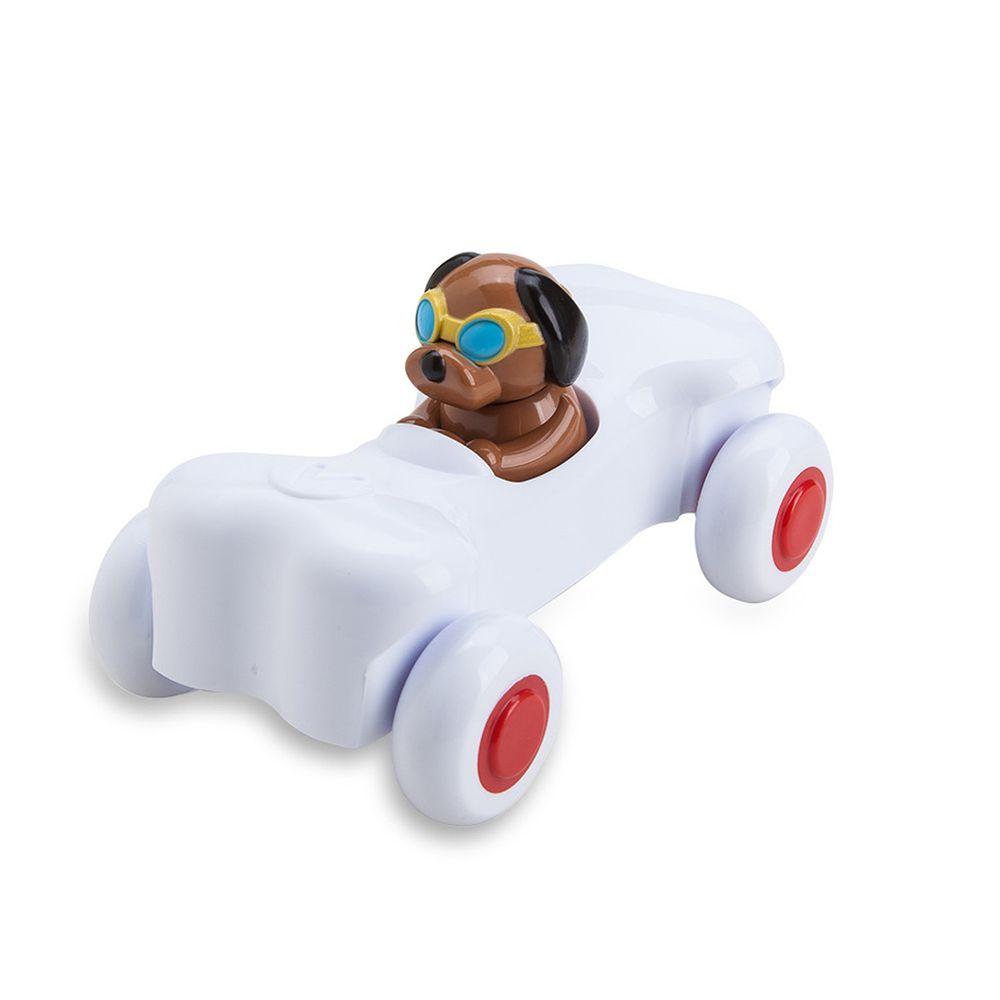 瑞典Viking toys - 動物賽車手-阿飛骨頭號-14cm