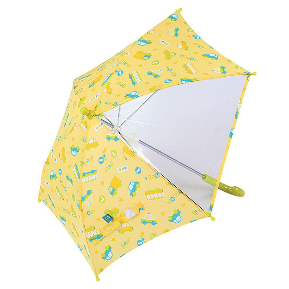 akachan honpo - 傘-汽車-黃綠色 (40cm)
