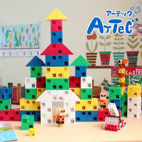 ❤日本ArTec❤創意無極限人氣積木☞日本超過3500所幼兒園指定學習教材