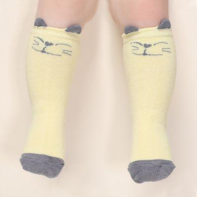 長筒襪-微笑小貓