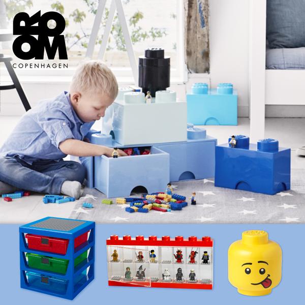 丹麥 LEGO 樂高收納箱 ✕ 收納抽屜