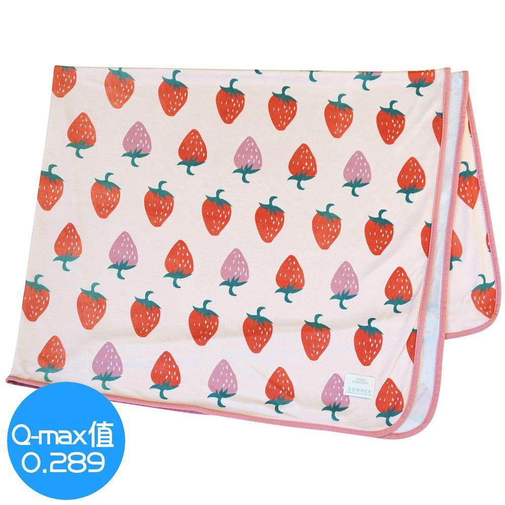 日本 DAIKAI - 接觸涼感毯-香甜草莓-粉紅 (140x100cm)