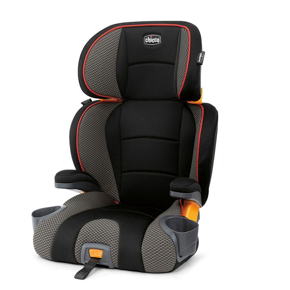 義大利 chicco - KidFit成長型安全汽座-風格黑