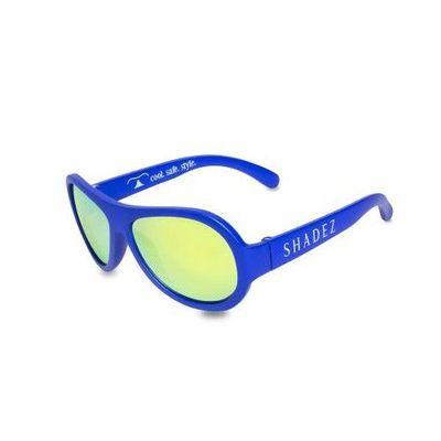 可彎折嬰幼兒時尚太陽眼鏡-海洋藍 (3Y~7Y)