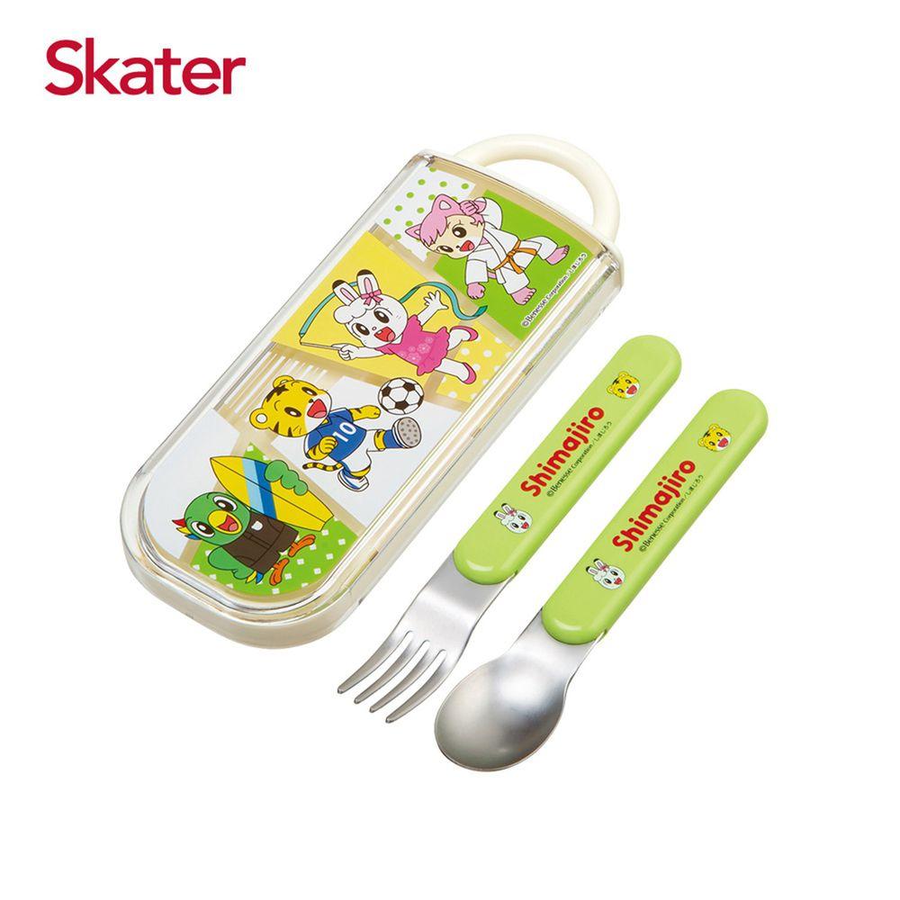 日本 SKATER - 餐具組CC2-巧虎SPORTS