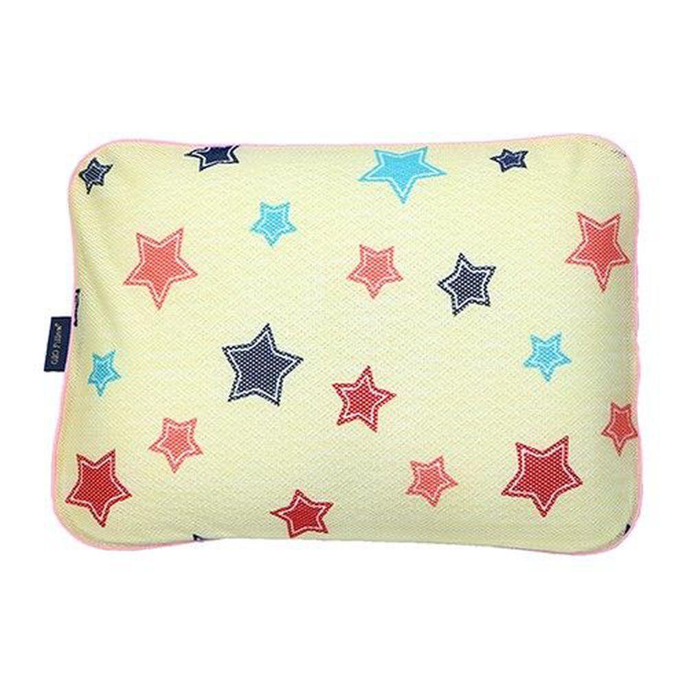 韓國 GIO Pillow - 超透氣防螨兒童枕頭-單枕套組-香草星星 (L號)-2歲以上適用