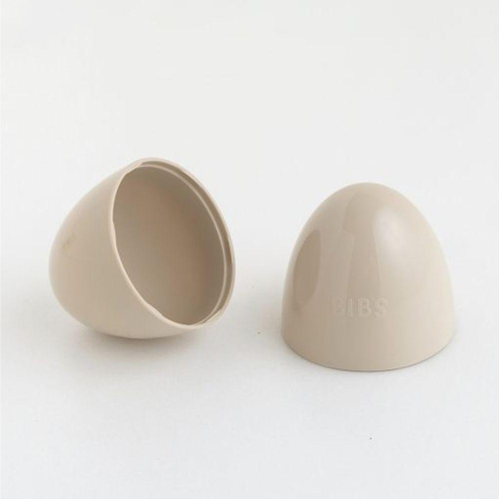 丹麥BIBS - Color安撫奶嘴專用防塵蓋-咖啡色