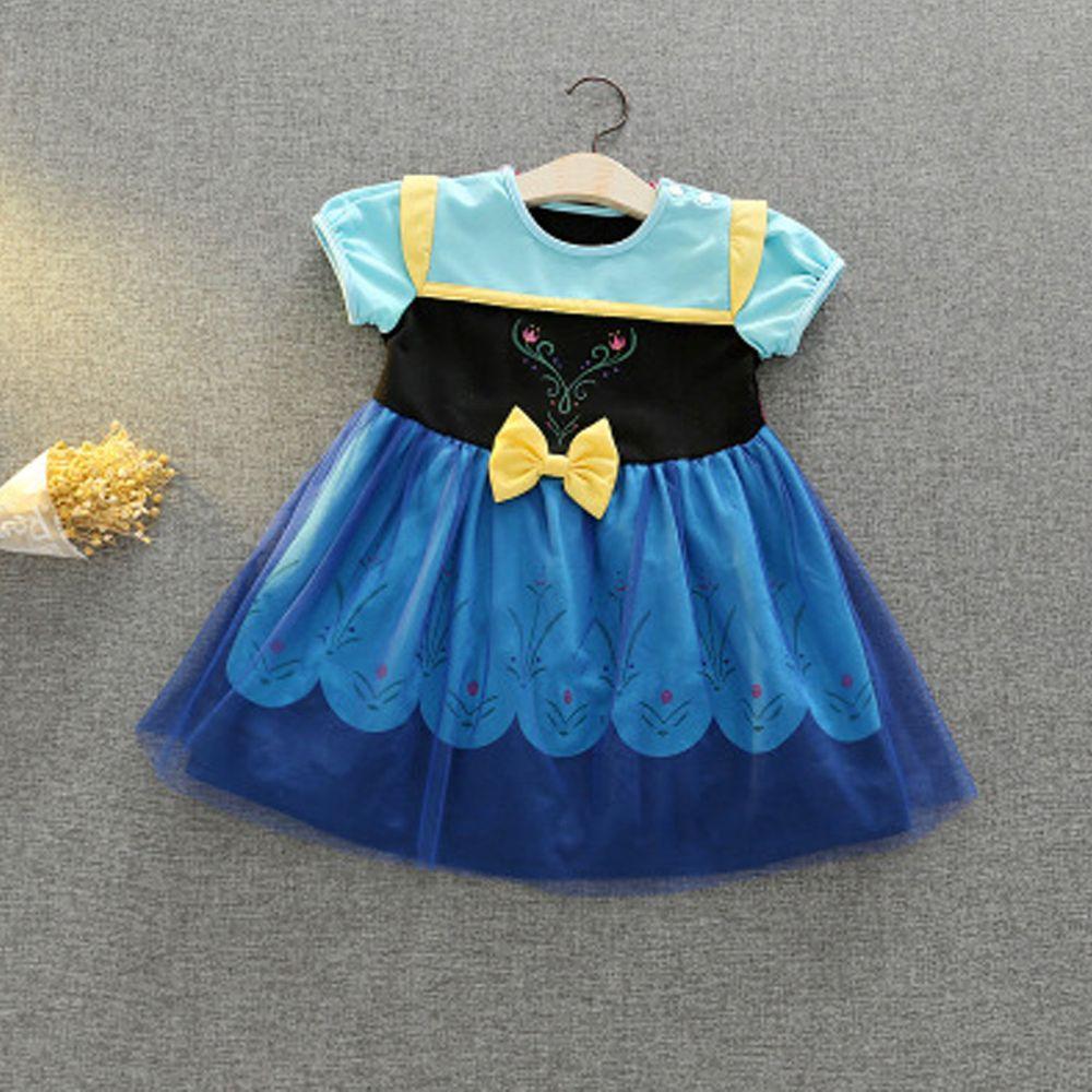 造型公主裙-冰雪奇緣安娜(披風)