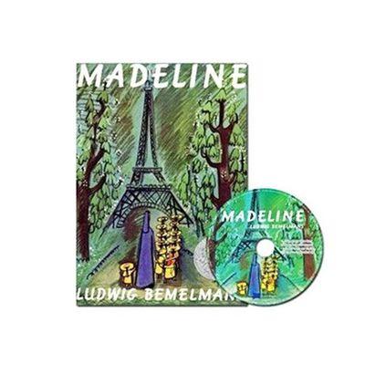有聲書-MADELINE/書+CD