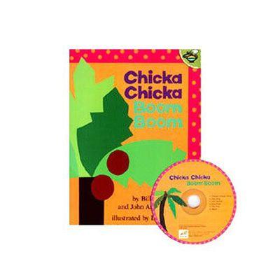 有聲書-CHICKA CHICKA BOOM/書+CD