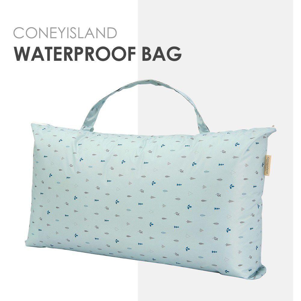 韓國 Coney Island - 加大版防水睡袋收納袋-天藍森林 (81.5*42.5*15cm)