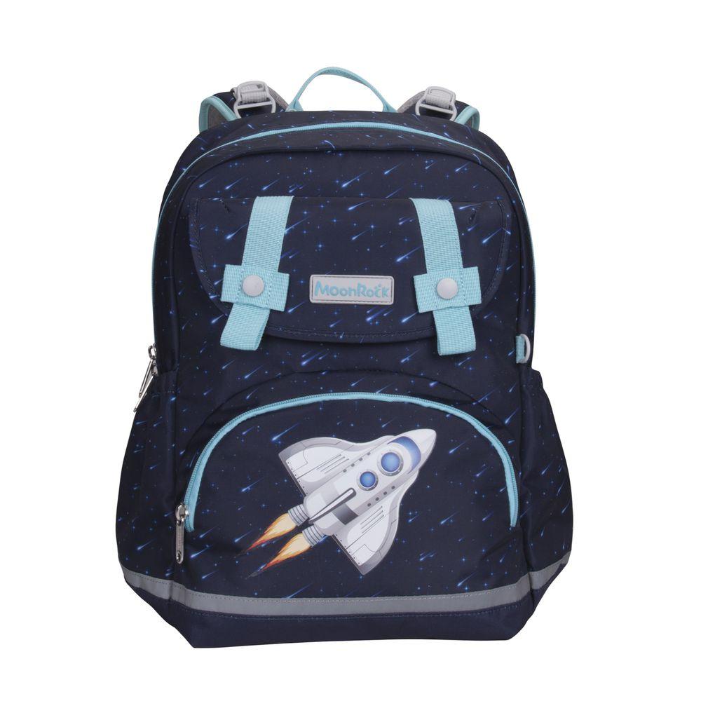 MoonRock - 護脊書包-SS1-太空梭-建議身高95-125cm (38x27.5x17cm)